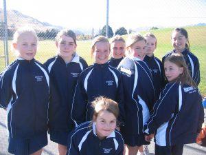 harcourts sponsorship - netball team