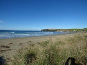 bach view beach catlins