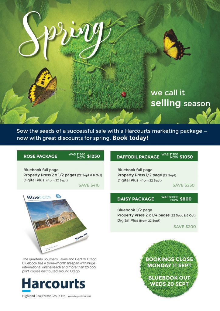 Harcourts selling spring