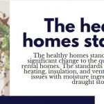 The healthy homes standards