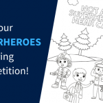 Superheroes Colouring Competition